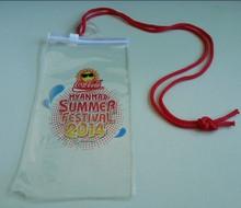 Transparent plastic pvc mobile phone waterproof bag