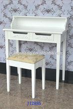 wood bedroom table with stool elegant classic student writing desk carved phone desk dresser black
