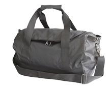 Black Travel duffel bag for men