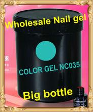 Wholesale Nail art Clean color gel polish UV gel 1 kg