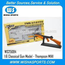 ข้อเสนอพิเศษสำหรับปืนอัดลมcyma01: 06โลหะคลาสสิกปืนของเล่นชุดรูปแบบ- ธอมป์สัน