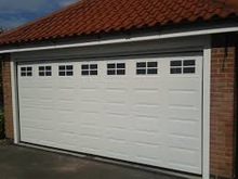 CE automatic folding insulated sectional garage doors
