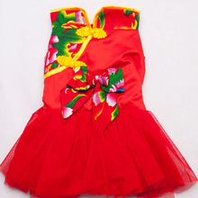 Chinese style pet clothes, tang dynasty suit for dog, tang suit
