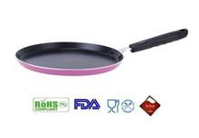 colourful Porcelain Enamel Aluminum aluminium food pan,aluminium crepe pan
