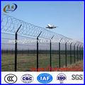 De alta calidad del aeropuerto de alambre de la cerca de malla( precio de fábrica)