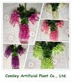 disegno del cliente glicine artificiale fiore