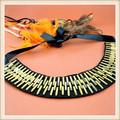 La moda de nueva productos del babero del metal del collar de collar de la señora de la decoración de china venta al por mayor