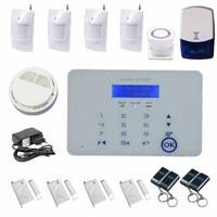 GSM Sistema D'Allarme Antifurti Kit Completo Radiofonico Auto Dial SMS&Chiamata