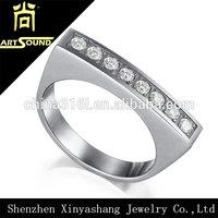 2014 new design gents diamond ring design