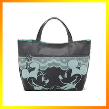 Lovely mickey mouses print nylon tote bag
