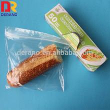 LDPE family sandwich zipper bag