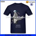De alta calidad personalizados baratos deportes modelo t- shirt