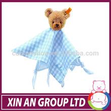 plush safety blanket,stuffed baby toy,plush baby blanket kids car seat pets