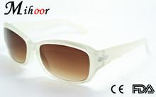 handmade classic logo white lens peace custom designer sunglasses