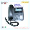 2 lines sip ip phone support smart voip wifi sip phones