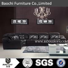 Baochi danish modern furniture wholesale,turkish sofa,with shoe fitting stool A155