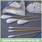 Disposable Medical Wood Stick Cotton Swab,cotton buds