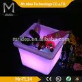 Jolie. multi.- couleur ip65 conduit pot de jardin de ciment