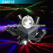Barato Mini de cuatro núcleos bola led lugar de cuatro núcleos 6 o 24 canales DMX luz del punto de Mini bola