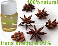 100% Pure Natural Anethole, 99%Trans Anethole, CAS104-46-1