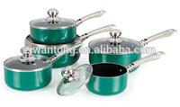 2014 new/10pcs aluminum cookware set,nonstick cookware sets,stainless steel pots and pan