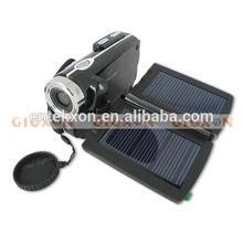 1.3MP CMOS Sensor 8x digital zoom 3 Inch TFT Solar Panel Digital Video Camera