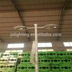 Morden design bajaj street light poles price list with lighting equipment for garden lamp and area lighting