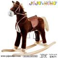 popular 2014 cavalo de balanço de movimento da boca e da cauda da fábrica auditado