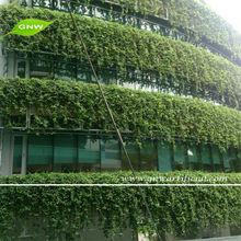 GNW GLW024 Artificial Green Wall Lifelike Plastic Plants for indoor garden landscaping