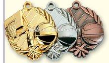 custom 3d basketball medal
