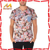 Newest fashionable all over printed polyester tshirt/polyester tshirt wholesale in factory direct price