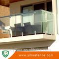 منتج جديد موردن الزجاج درابزين شرفة التصميم