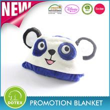 high quality baby blanket fashionable wool blanket animal design baby blanket