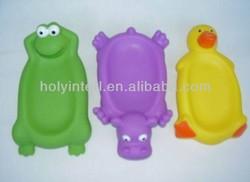 PVC soap dish toys
