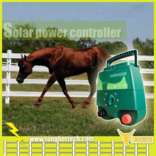 China 12KV solar power electric fence energiser charger for horses fence