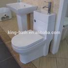 washing basin toilet, bathroom vitreous ceramic toilet, Bath and Toilets Wash Basin