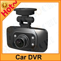 Car DVR with 6 fixed focus lens and 2.7 inch 16:9 TFT LCD