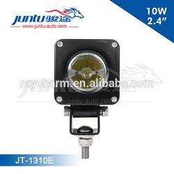 "Juntu New 2.4"" 12v IP68 CREE 10w Motorcycle Mini Offroad Led Light"