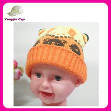 Alta calidad winter beanie cap tejer crochet patrones tejida sombreros