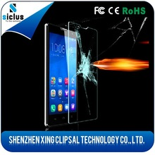 0.33mm 2.5D transparent tempered glass screen protector for OPPO find7.2