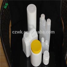 أبيض الجسم مع غطاء زجاجة بلاستيكية من أجل corlorful الكثافة السائلة والصلبة