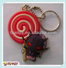 2D Cartoon character soft PVC key chain
