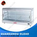 attrezzature di ristorazione in vendita di vetro cibo caldo display