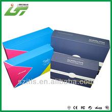Custom beautiful printing good quality paper shoe box pattern
