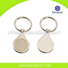 Good quality guarantee oem wholesale blank keyrings
