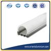 Sliver Anodized Aluminium LED Lighting Profile
