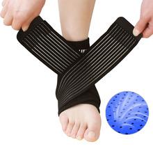 Adjustable neoprene ankle support elastic ankle brace