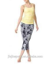 Dry fit Fitness yoga vest,yoga wear,fitness gym vest