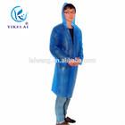 Transparent PVC raincoat / folding long raincoat