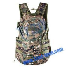 42x23x16cm Waterproof Unisex Adjustable Camouflage Backpack Shoulders Bag Canvas Bag For Outdoor Sports